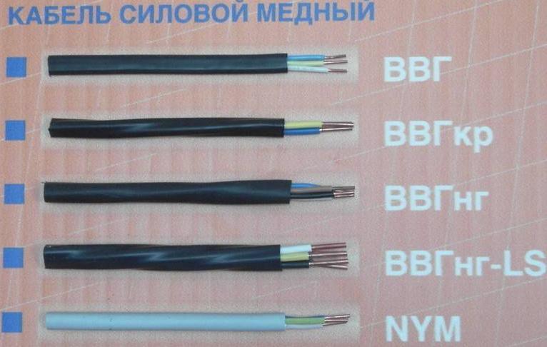 Какой кабель и марку выбрать под освещенние