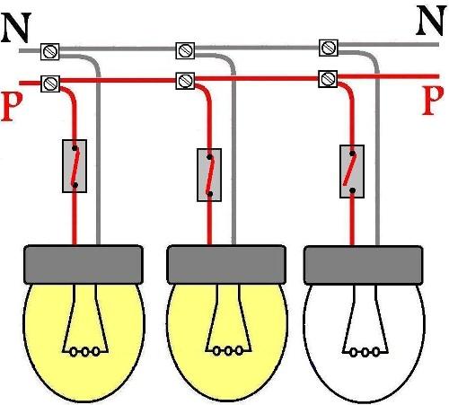 Zwei Lampen Sind Parallel Geschaltet Nachdem Wir Gesehen Haben Wie Die Lampen An Den Stromkreisen Angeschlossen Sind Werden Unsere Leser In Der Lage Sein Das Beleuchtungssystem Optimal Zu Wahlen